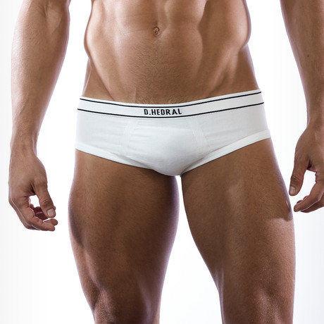 Ace Brief // Pure White (M)