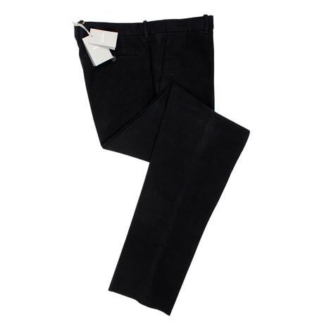 Tom Ford // Cotton Blend Suede Pants V2 // Black (44)