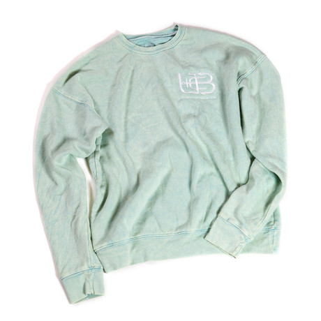 Sea Foam Crew // Sea Foam Green Mineral Wash (S)