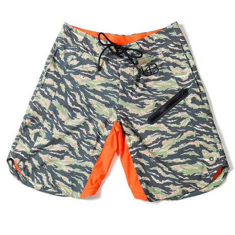 Camo Trunks // Camo + Orange (S)