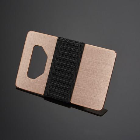Spine Wallet // Copper