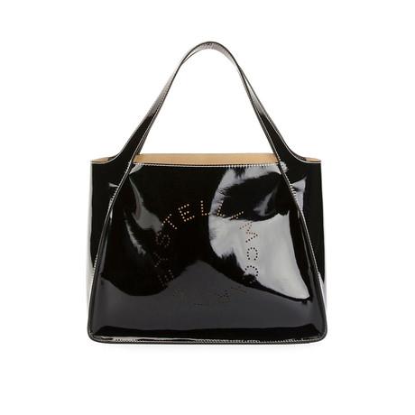 Stella McCartney // Logo Tote Handbag // Black