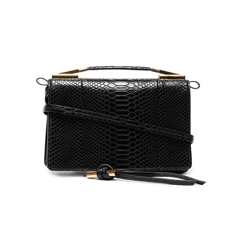 Stella McCartney // Flo Small Shoulder Handbag // Black