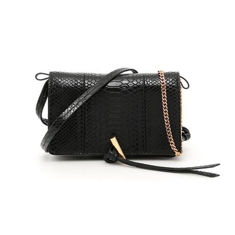 Stella McCartney // Flo Mini Shoulder Handbag // Black