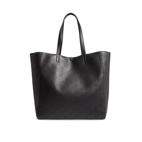 Stella McCartney // Monogram Medium Tote Handbag // Black