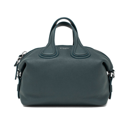 Givenchy // Leather Nightingale Small Satchel Handbag // Blue