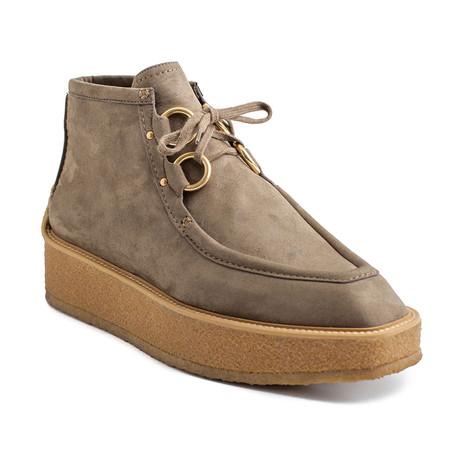 """Stella McCartney // Suede """"Tlingit"""" Sneaker Shoes // Cigar Brown (US: 6)"""