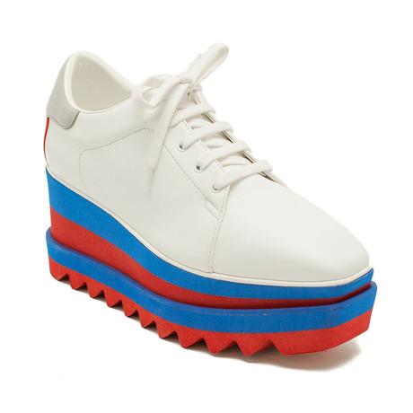 Stella McCartney // Platform Elyse Sneaker Shoes // White (US: 5)