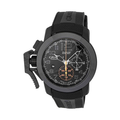 Graham Chronofighter Oversize Black Forest Automatic // 2CCAU.B01A R // Store Display