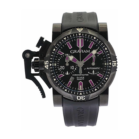 Graham Chronofighter Oversize Automatic // 2OVEZ.B24A // Store Display