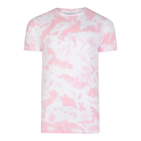Bomad Cloud Dyed Crew Neck Tee // Washed Pink (S)