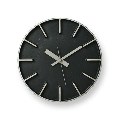 Edge Clock S // Black