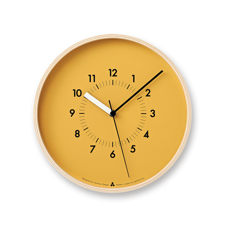 Awa Clock // Soso (Orange)