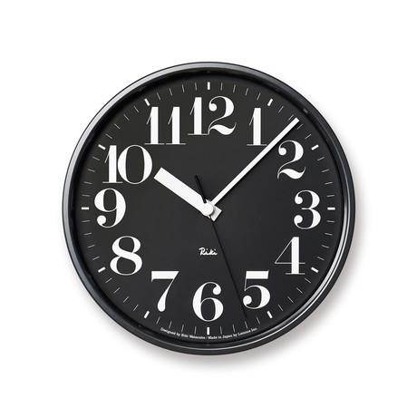 Riki // Steel Clock (Black)