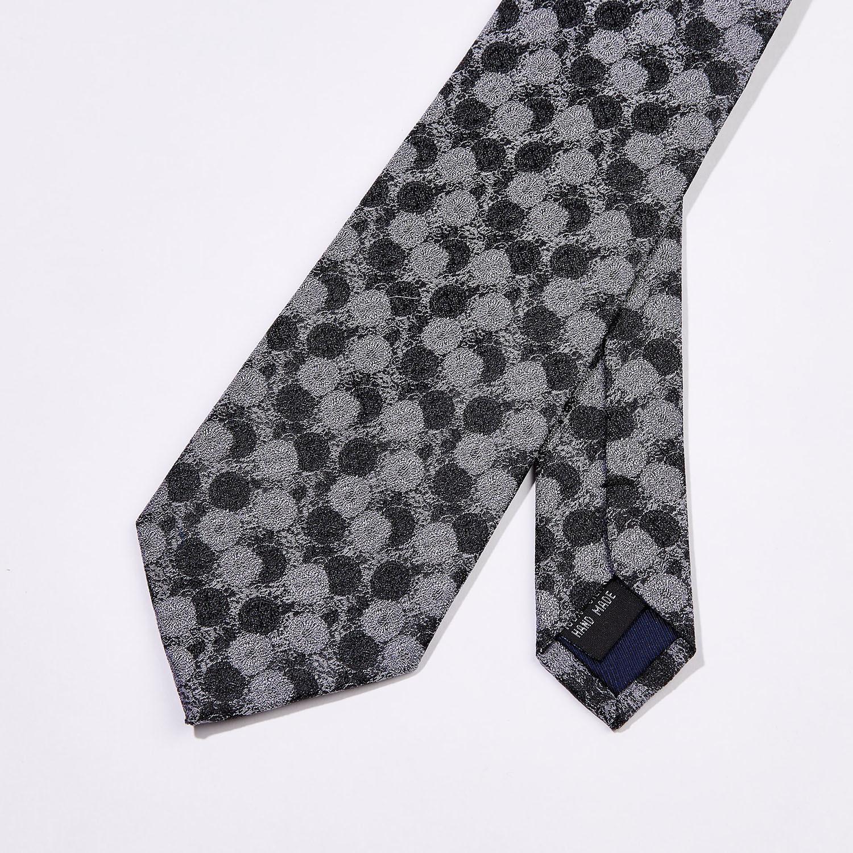 2d2bd87e663d Multi Circles Silk Tie // Black - Bruno Piattelli - Touch of Modern