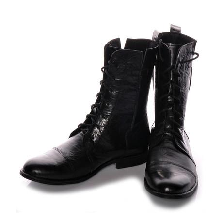 Masatti Cap Toe Boot // Black (US: 7)