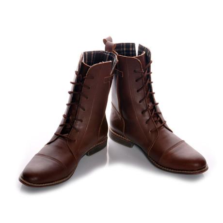 Masatti Cap Toe Boot // Brown Grating (US: 7)
