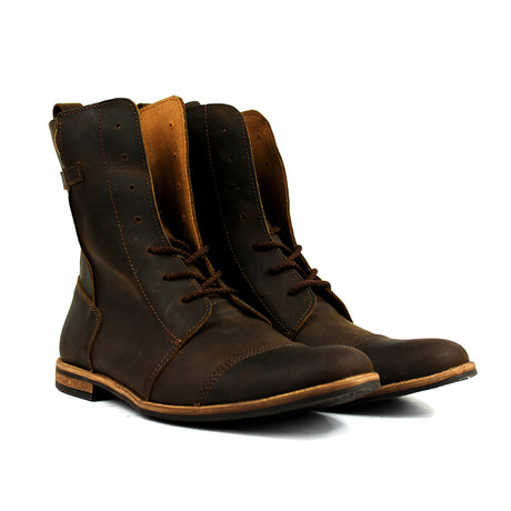 Masatti Cap Toe Boot // Chocolate Brown (US: 7)