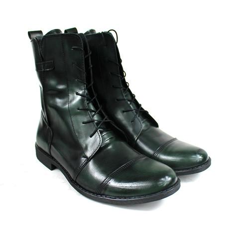 Masatti Cap Toe Boot // Green (US: 7)