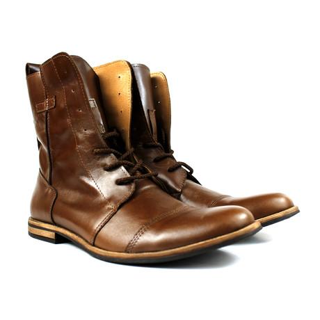 Masatti Cap Toe Boot // Light Brown (US: 7)