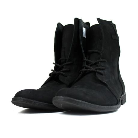 Masatti Cap Toe Boot // Nubuck Black (US: 7)