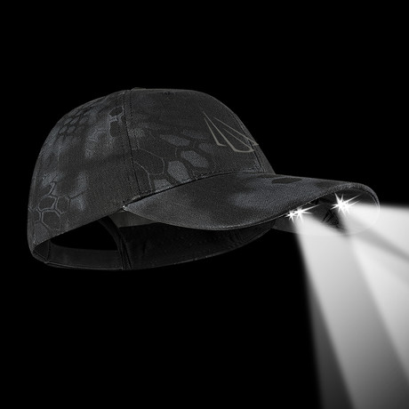 Powercap 4-LED Cotton Hat (Kryptek Typhon)
