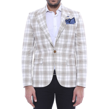 Mason Slim Fit Blazer // Light Gray (Euro: 52)