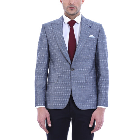 William Slim Fit Blazer // Light Blue (Euro: 44)