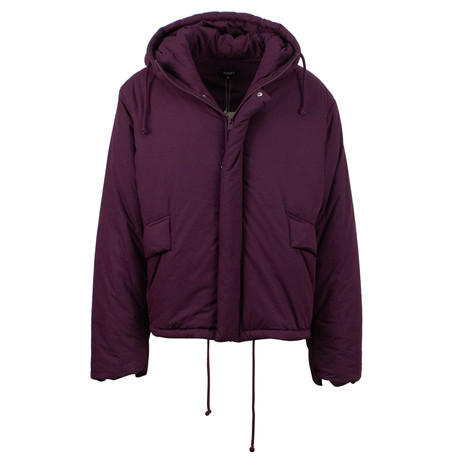 Yeezy // Season 5 Short Puffer Coat // Oxblood (XS)