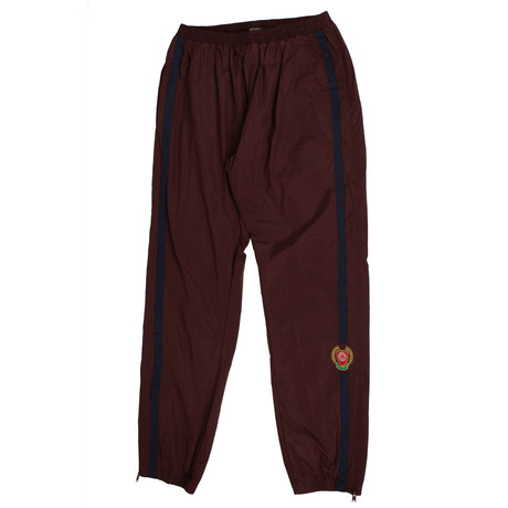 Yeezy // Season 5 Track Pants // Oxblood (XS)
