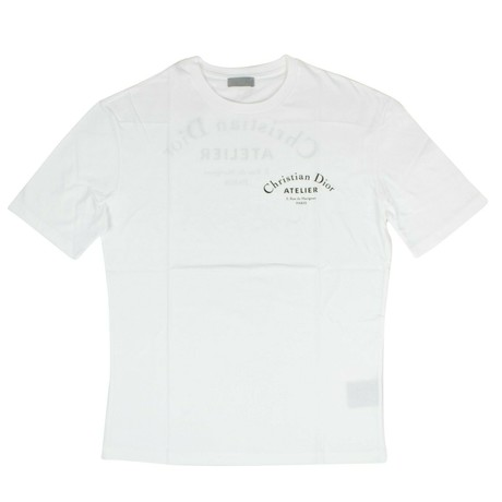 Christian Dior // Atelier Short Sleeve T-Shirt // White (XS)