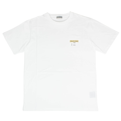 Christian Dior // Visitor Patch Short Sleeve Cotton T-Shirt // Off-White (XS)