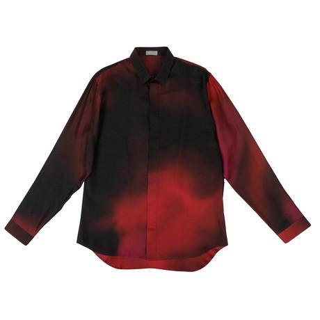 Christian Dior // Abielle Woven Dress Shirt // Red (US: 15R)