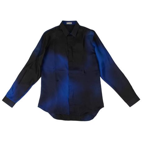 Christian Dior // Abielle Woven Dress Shirt // Blue (US: 15R)