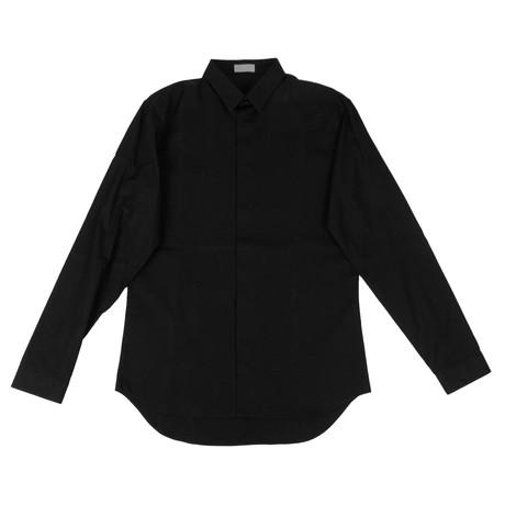 Christian Dior // Cotton Dress Shirt // Black (US: 15R)
