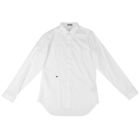 Christian Dior // Cotton Dress Shirt // White (US: 15R)