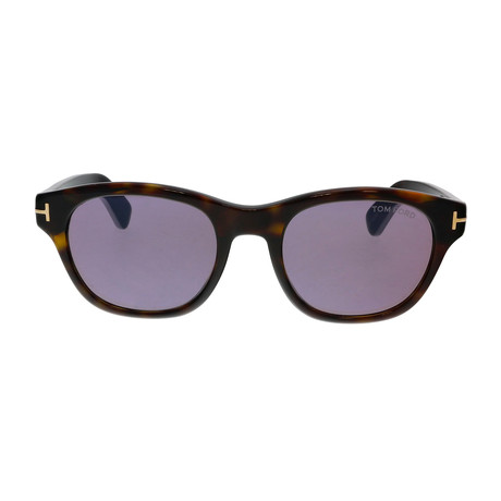 Men's O'Keefe Sunglasses // Dark Havana + Gray
