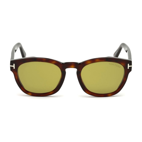 Tom Ford // Men's Bryan Sunglasses // Dark Havana + Green