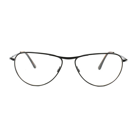 George Metal Optical Frames // Shiny Black