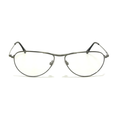 George Metal Optical Frames // Shiny Dark Ruthenium