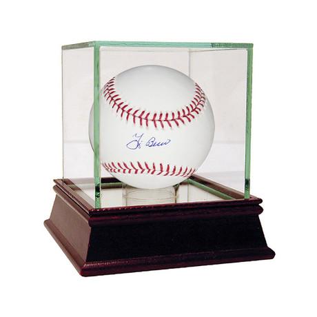 Signed MLB Baseball // Yogi Berra