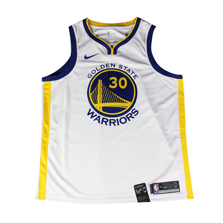 Signed Warriors Jersey // Stephen Curry