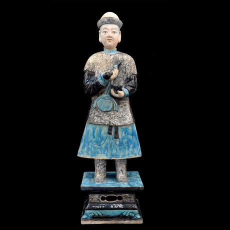 Ming Dinasty Court Attendant // Ming Dynasty, China // 1368-1644 CE