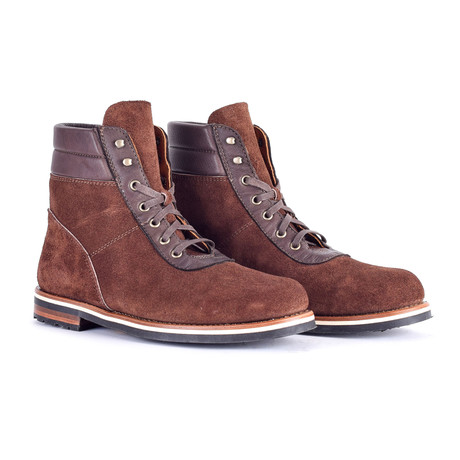 Weldon Boots // Brown Suede (US: 9)