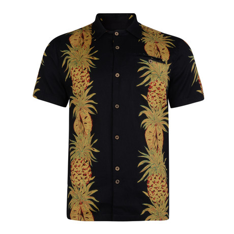 Eros Pineapple Shirt // Black (S)