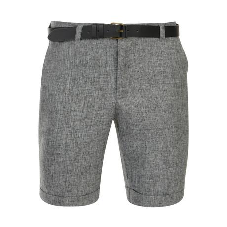 Valda Tailored Short // Grey (30)