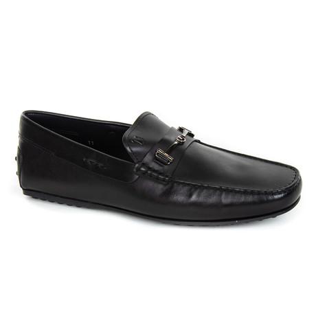 Embellished Loafer // Black (UK: 6)