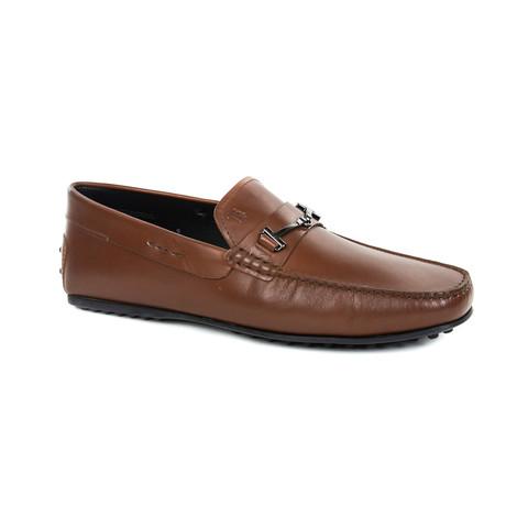 Embellished Loafer // Brown (US: 9)