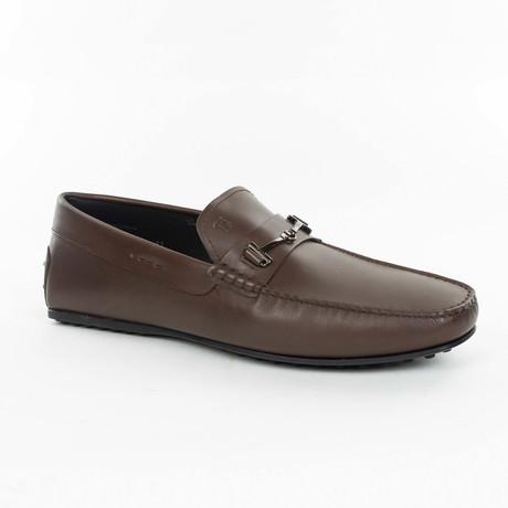 Embellished Loafer // Dark Brown (UK: 6)