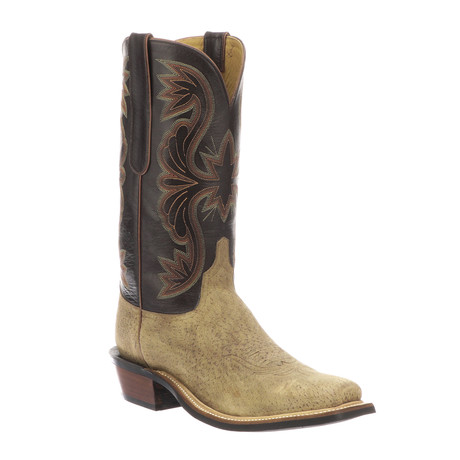 Nat Cowboy Boots // Sand (US: 7)